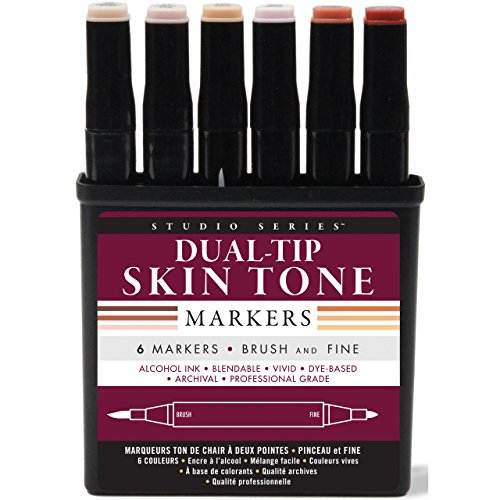 studio-series-professional-alcohol-markers-skin-tones-6-pack