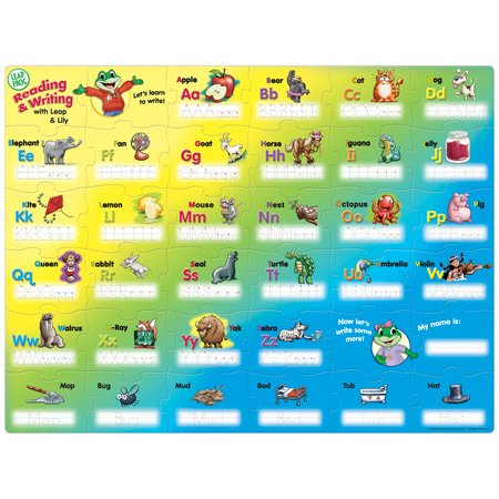 Cheap Master Pieces Leap Frog Leap and Lilys Alphabet Write-On Floor Puzzle 36pc (B000JVUKFK)