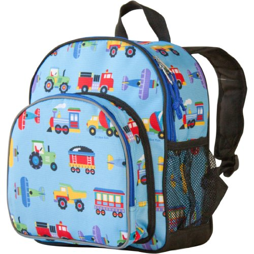 Wildkin Trains Planes Trucks Backpack
