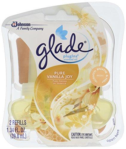 Glade Plugins Scented Oil 2 Ct. Refill- Pure Vanilla