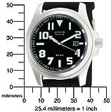 Citizen Men's BM6400-00E Eco-Drive Canvas Watch