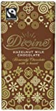 Divine Fairtrade Hazelnut Milk Chocolates 100 g (Pack of 5)