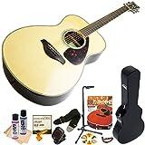 ヤマハ アコースティックギター 初心者セット FS830 NT ナチュラル 14点入門セット ハードケース付属
