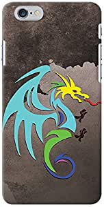 Kasemantra Dragon Can Fly Case For Apple iphone 6-6S