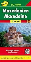 Macedonia Fb 2012 1:200,000 (English, Spanish, French and German Edition)