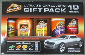 Armor All Ultimate Car Lover's Gift Pack - 10 Items! by Armor All