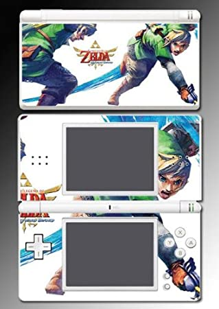 Legend of Zelda Skyward Sword Vinyl Decal Skin Protector Cover 3 for Nintendo DS Lite