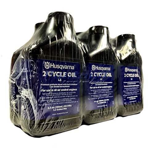Husqvarna 2 Cycle Low Smoke Oil 6.4 oz Bottle - 6 pack (Husqvarna Fuel Mix compare prices)