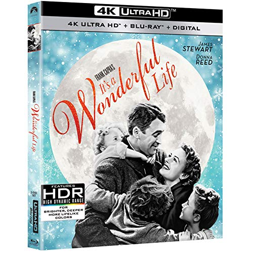 4K Blu-ray : It's A Wonderful Life (2 Discos)
