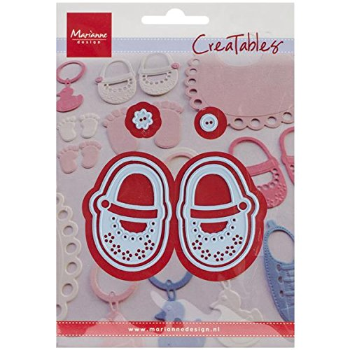 "Marianne Design Creatables Dies-My First Shoes, Up To 1.1875""X1.8125"""