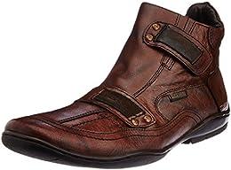 Buckaroo Mens Leather Sneakers B00NOT4CDU
