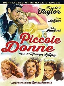 Amazon.com: Piccole Donne (1949): June Allyson, Mary Astor, Rossano