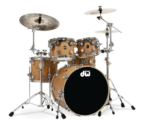 DW Drums Eco-X Kit with 22-inch Kick Drum, Desert Sand Finish (Cymbals Not Included)