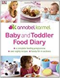 Baby and Toddler Food Diary