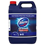 Domestos Professional Extended Germ-Kill Original Bleach wit CTAC 5L (Pack of 4 x 5Ltr)