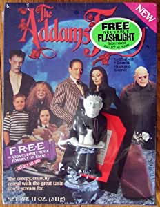 Addams Family Cereal Box with Lurch Flashlight