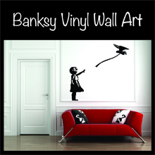 Twisted Banksy Vinyl Wall Art