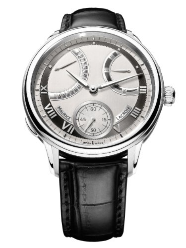 Maurice Lacroix Masterpiece Calendrier Retrograde Mechanical Manual-Wind Mp7268-Ss001-110