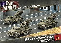 Team Yankee Soviet BM-21 Hail Battery ~ MAR