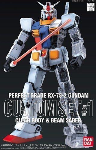 PG RX-78-2 高达用扩充套件#1 透明外装甲+发光光束军刀(1:60)