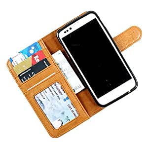 For Blackberry Z10 - PU Leather Wallet Flip Case Cover