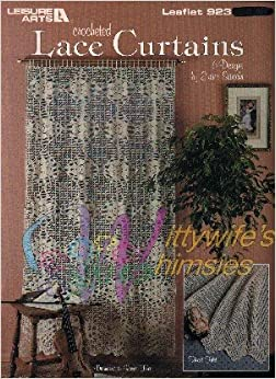 Crocheted Lace Curtains (Leisure Arts # 923 crochet patterns): Eunice