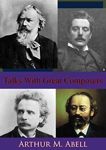 Talks With Great Composers