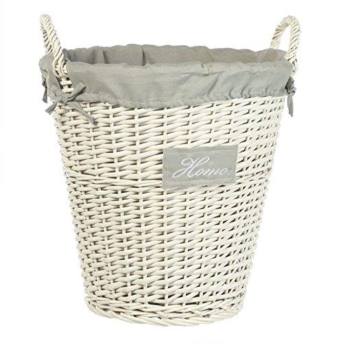 corbeille linge en osier blanc 3238920043006 cuisine maison corbeilles linge alertemoi. Black Bedroom Furniture Sets. Home Design Ideas