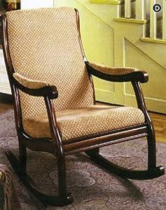 Classic style Rocking Chair, Antique oak finish CM-AC6408, Furniture ...
