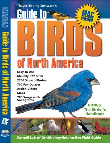 Thayer Birding Software Birds of North America, v3.9 Macintosh (Thayer Birding Software compare prices)