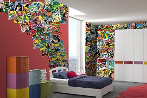 1-Wall-Dcoration-murale-Motif-Batman-Superman-de-DC-Comics-Wonder-Woman-64-pices-Cratif-Collage-Dcoration-murale