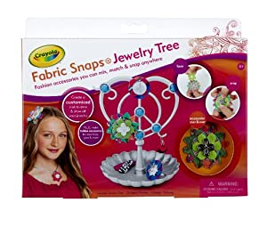 Crayola Fab Snaps Jewelry Tree