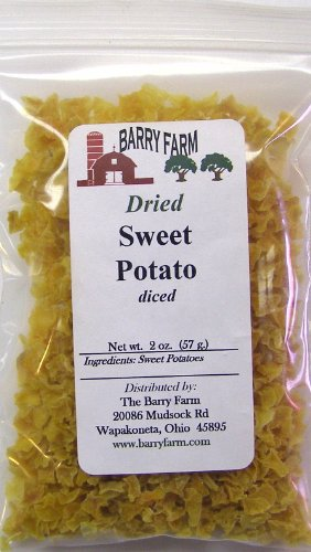 Sweet Potato Dices