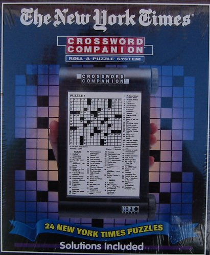 Picture of Herbko The New York Times Crossword Companion Roll-a-puzzle System (B000JFBQAY) (Puzzle Accessories)
