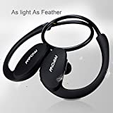 Cheap [New Version] Mpow® Cheetah Sport Bluetooth 4.0 Wireless Stereo Headset Headphones Earphone Earbuds with AptX,Microphone Hands-free Calling, for Running Work with Apple iPhone 6, 6 Plus, 5 5c 5s 4s iPad iPod Touch, Samsung Galaxy S5 S4 S3 Note 3 2 and Android