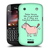 Head Case Designs Pretentious Horse The Secret Life of Fantastic Animals Protective Snap-on Hard Back Case Cover for BlackBerry Bold Touch 9900