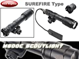 SUREFIREタイプレプリカ M600CスカウトライトLED BK 高光度LED
