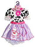 51c5In14E5L. SL160  Creative Designs Fancy Nancy Cow Dress Costume (Styles may vary)