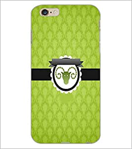 PrintDhaba Zodiac Aries D-3536 Back Case Cover for APPLE IPHONE 6 PLUS (Multi-Coloured)