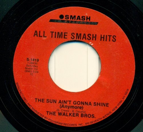The Sun Ain'T Gonna Shine (Anymore) / Make It Easy On Yourself [ 7 Inch Vinyl Single. 45 Rpm ] front-213646