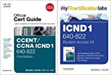 img - for CCENT/CCNA ICND1 MyITCertificationLab 640-822 Official Cert Guide Bundle by Wendell Odom (2012-02-14) book / textbook / text book