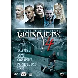 Warriors 4 - The Experts of Self Defense: Krav Maga, Kapap, Close Combat, Pro Self Defense and Sambo