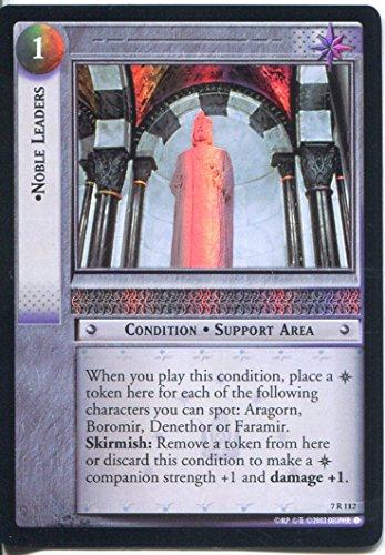 Il Signore degli Anelli Foil CCG Card rotk 7.r112Noble Leader