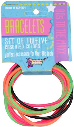 80's Color Rubber Bracelet