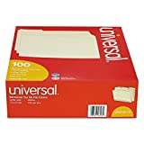 16113 Carpetas-1 Archivo / 3 universal Cut-Surtido de dos capas Top Tab-Letter-Manila-100/Box
