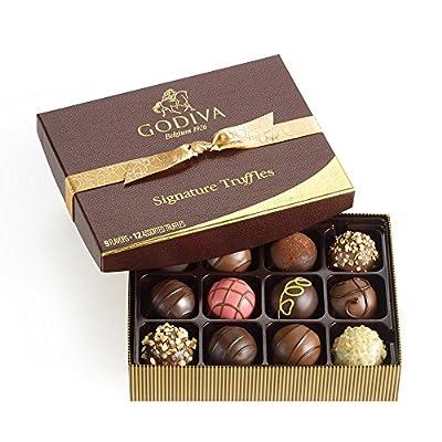 GODIVA Chocolatier Signature Chocolate Truffles Gift Box Classic Gold