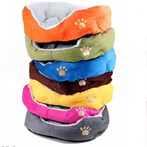 Nido-para-mascotas-perro-mascota-nido-clido-nido-mascota-algodn-azul-caf-gris-verde-Hotpink-naranja-amarillo