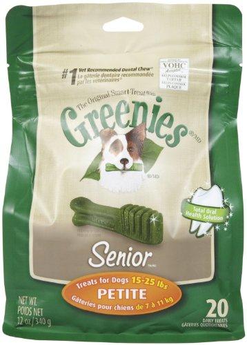 Greenies Senior Dog Treats Petite 12Oz 20Ct