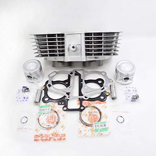Motorcycle Cylinder Piston Ring Gasket Kit for Honda CBT250 CA250 Rebel CMX250 DD250 CBT CA CMX DD 250 253FMM Engine Spare Parts