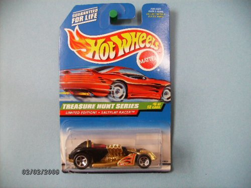 Hot Wheels Treasure Hunt Saltflat Racer # 6 of 12 Collector #754 - 1